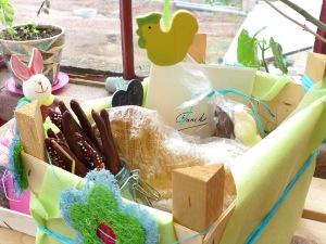 Panier gourmand à offrir pour Pâques